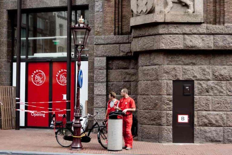 Czerwony Ajax Amsterdam