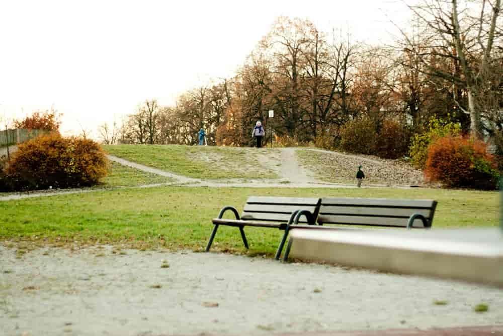 Spacer w jesienny dzień