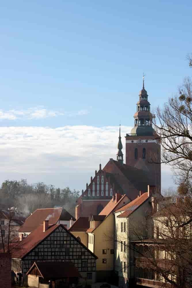 Lidzbark kościół