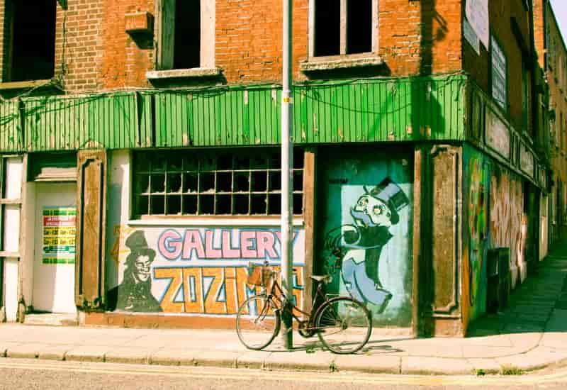Dublin - opuszczone budynki