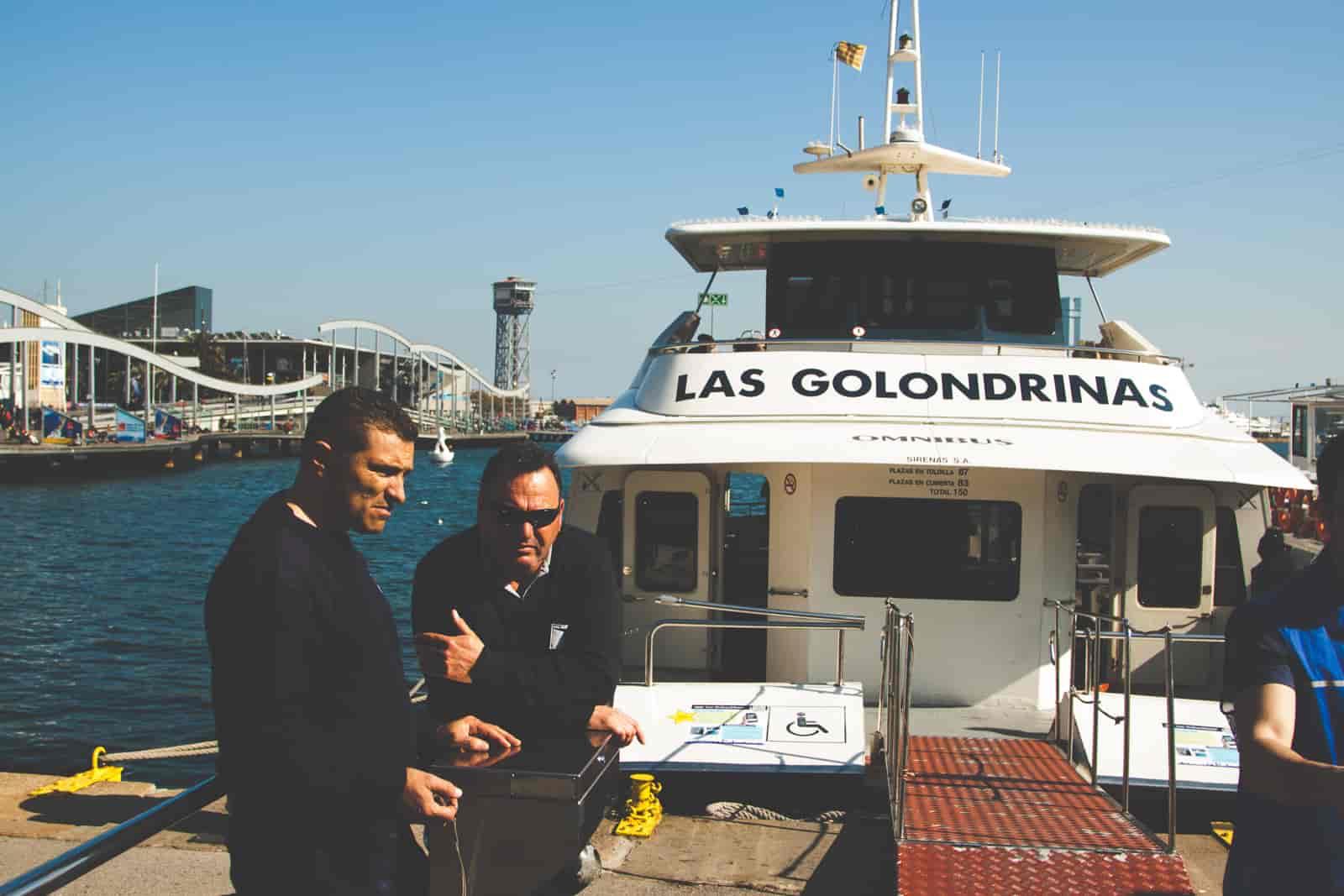 Wyjazd do Barcelony - statek