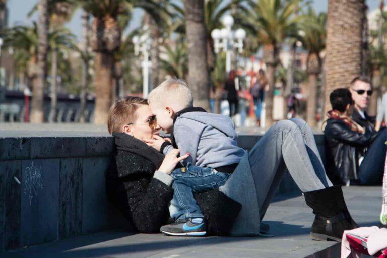Barcelona z rodziną. Wiele zdjęć.