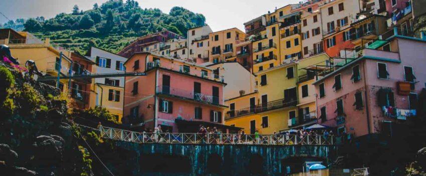 Manarola Cinque Terre - architektura miasteczka