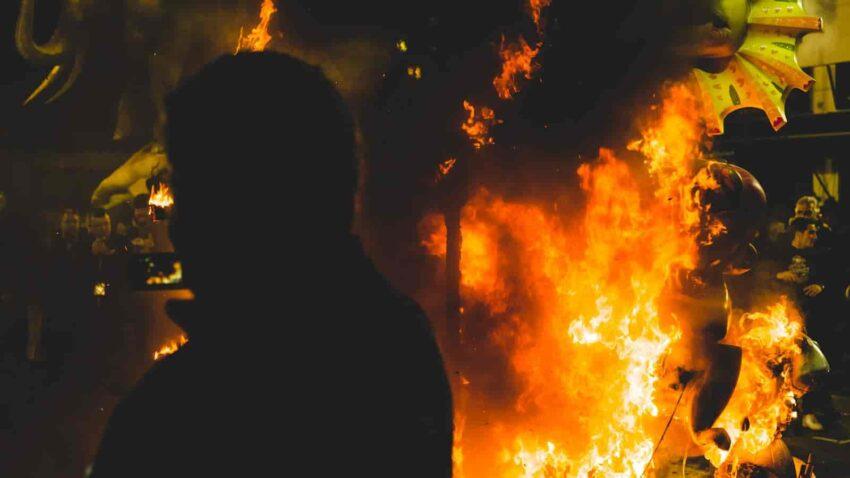 Las Fallas święto ognia w Walemcji